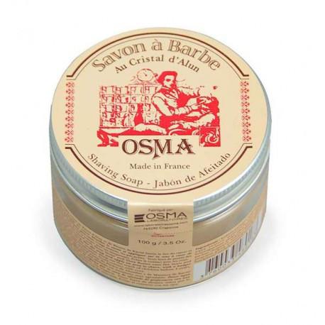 Органическое мыло для бритья OSMA  на основе квасцов, 100 г
