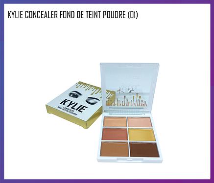 Палетка консилер Kylie Concealer Fond De Teint Poudre (01), фото 2
