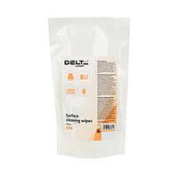 Серветки для оргтехніки вологі Delta D5311, змінні, 100 штук