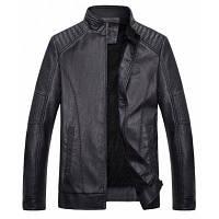 Ctsmartбыл мужская искусственная кожаная куртка с стойкой кожаные куртки XL