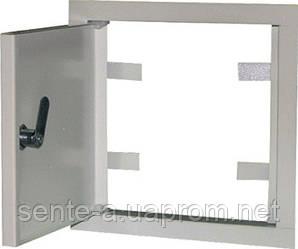 Дверцы металлические ревизионные  e.mdoor.stand.150.150.z 150х150мм с замком