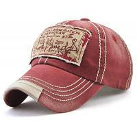 Багамская Шляпа Бейсбола С Аппликацией Красное вино