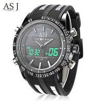 АПУ 8150 двойной Вахта СИД Спортов Мужской часы Белый