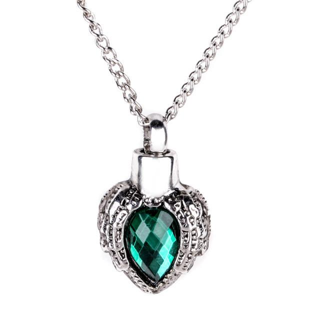 """Красивый женский кулон из металла в виде сердца """"Сердце с камнем""""!"""