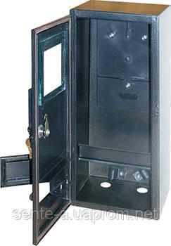 Шкаф распределительный e.mbox.stand.n.f3.6.z.str под трехфазный счетчик (пустой), навесной, 6 мод. с замком,
