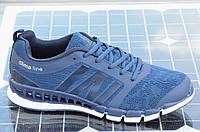 Кроссовки мужские летние  сквозная сетка легкие синие (Код: Б607а). Только 44р!