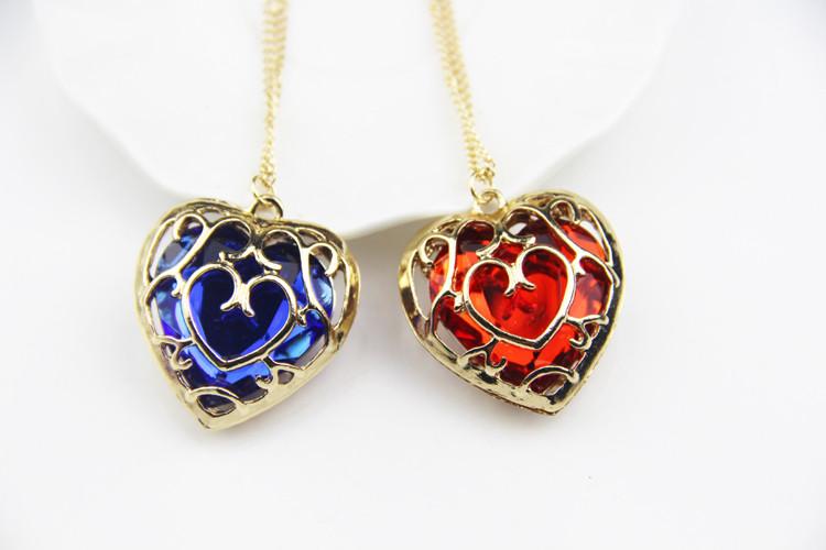 """Красивый женский кулон из металла """"Сердце в сердце""""!"""