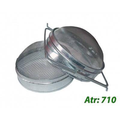 Двухсекционный фильтр Д-170 мм н/ж выпуклый