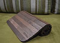 """Деревянная накладка-столик на подлокотник дивана (""""Орех"""") #2i2ua"""