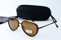 Солнцезащитные очки Cavaldi коричневые