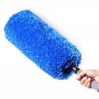 CARSETCITY телескопическая щетка из микрофибры для чистки салона автомобиля Синий