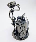 "Техно-арт статуэтка из металла ""Диджей"""