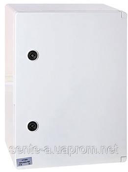 Шафа ударостійкий з АБС-пластику e.plbox.300.400.165.blank, 300х400х165мм, IP65
