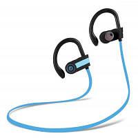 SH02 ушной крючок блютуз спортивные наушники на уши Синий