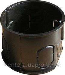 Коробка установочная e.db.stand.100.d60.screw с шурупом кирпич/бетон, одиночная