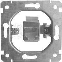 Механизм e.mz.14132.rj.12 розетки одинарной телефонной под  Jack RJ12