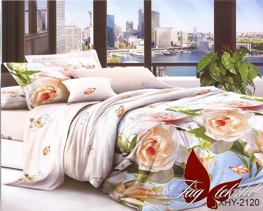 Комплект постельного белья XHY2120 полуторный (TAGpolicotton 1,5-sp-463)