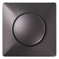 "Панель e.lux.13011L.13006C.pn.anthracite светорегулятора с  диском, ""антрацит"""