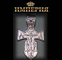 Крест православный мужской серебряный 16 г