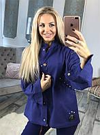 Трендовая курточка Birgit с изумительным декором пайетками, нашывкой и шипамы (144)503870