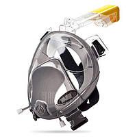 Силиконовая маска для взрослых для дайвинга подводного плавания на все лицо L / XL