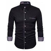 Классическая Рубашка С Длинным Рукавом S