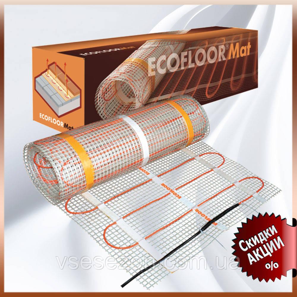 Ультратонкий нагревательный мат СМ 150 Вт/м.кв для укладки под плитку