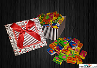 Жвачки Love is... в подарочной упаковке 25 шт