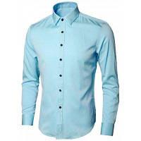 Рубашка С Длинными Рукавами И Вышитыми Листьями 4XL