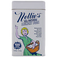 Nellie's All-Natural, Сода для стирки, 100 загрузок, 3,3 фунта (1,5 кг)
