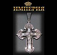 Крест православный мужской серебряный до 8 г
