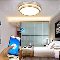 Jiawen LED Wifi беспроводной потолочный свет крытое смарт освещение с пультом дистанционного управления через приложение AC 110-265В светодиодная