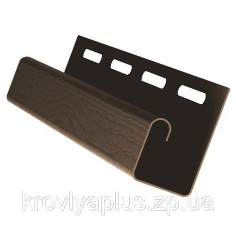 Соффит J-планки Rainway/Рейнвей коричневый, фото 2