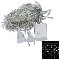Jiawen 3М 4ВТ 100-LED 8-MODE Свет украшение строку фары Eu плагин AC 220V Белый