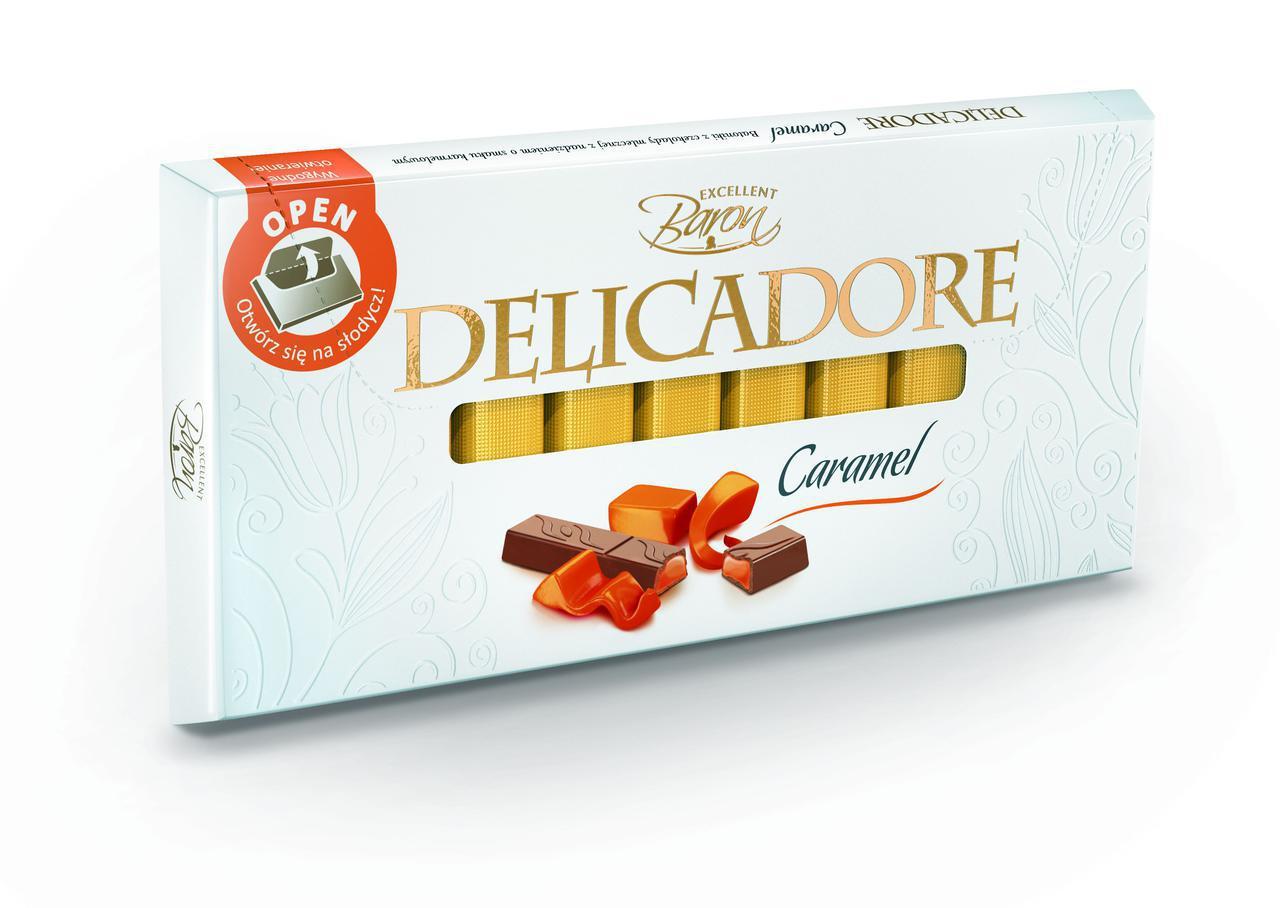 Шоколад Delicadore Caramel (карамель) Польша 200г