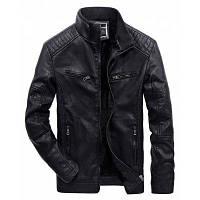 JOOBOX стильный кожаный PU пальто куртки L