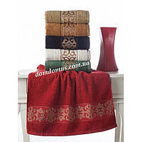 "Махровое полотенце ""Tibet"" 70*140 см Philippus 6 шт./уп.,Турция 375"
