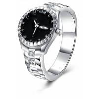 Женское кольцо для часов с цирконом 9