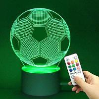 Футбольная Форма Цвет Изменение Декор Ночного Света Прозрачный