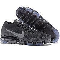 d00ed504 Кроссовки мужские для бега Nike Air Vapormax Flyknit (черные) Top replic