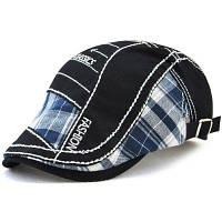 Мужская Шляпа С Вышивкой Чёрный