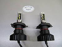 LED лампы Х5 - h4  головного света - альтернатива Би ксенону в рефлекторную оптику.