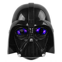 Уникальная маскарадная светящаяся маска для детей Чёрный