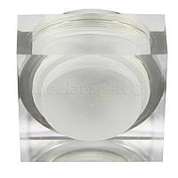 Светильник галогеновый CANDELLUX SAK-02 AL/TR LED (3 W) LED стекло акрил