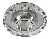 Светильник галогеновый CANDELLUX SS-35 AL/TR (3 W) LED COB стекло прозрачное