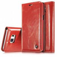 CaseMe Solid Color Retor Premium Кожаный магнитный чехол для Samsung Galaxy Note 5