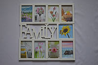 Рамка коллаж 1709 Family 9 фото