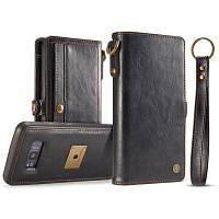 CaseMe Premium PU Кожаный чехол с чехлом для Samsung Galaxy S8 Plus