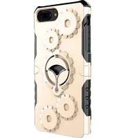Опорная консоль с защитой мобильного телефона для iPhone 7 Plus / 8 Plus Золотой
