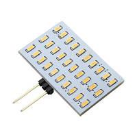 WeiXuan G4 Bi-Pin светодиодная лампа 3W 30 SMD 4014 DC / AC 12-24V Теплый белый Тёпло-белый